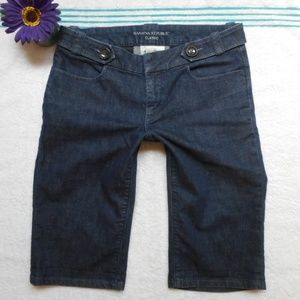 Banana Republic Jean Short Bermuda Size 4